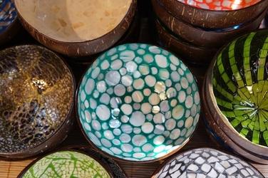 Fototapeta kolorowe miski fp 63
