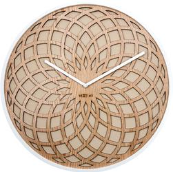Zegar ścienny Sun Nextime 35 cm, beżowy 3150 BE