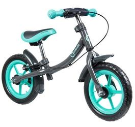 Lionelo dan plus turkus rowerek biegowy hamulec + lampka led