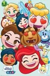 Disney emoji princess - plakat