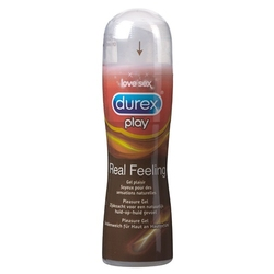 Żel nawilżający silikonowy - durex play real feeling lubricant 50 ml