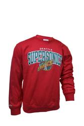 Bluza Mitchell  Ness NBA Seattle Supersonics Team Arch