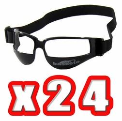 Okulary dryblerki do nauki kozłowania koszykówka - Zestaw 24 par