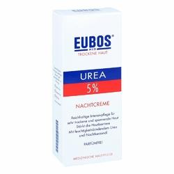 Eubos Urea 5 krem na noc do skóry suchej