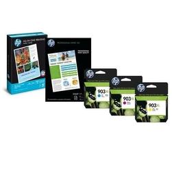 HP oryginalny zestaw tuszy 1CC20AE, No.903XL, cyanmagentayellow, 825s, 75szt, HP OfficeJet 6950, Pro 6970, 6960