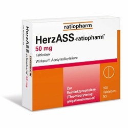 Herzass ratiopharm 50 mg Tabl.