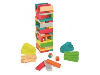 JENGA gra z kolorami Equilibloc