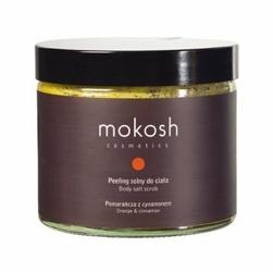 Mokosh W peeling solny do ciała Pomarańcza z cynamonem 300g