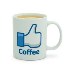 Facebookowy kubek - Like Coffee