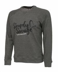 Sweter Savage Gear Sweater Melange Grey M