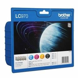 Tusze Oryginalne Brother LC-970 CMYK LC970VALBP komplet - DARMOWA DOSTAWA w 24h