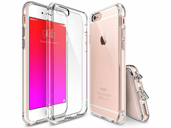 Orygianlne etui Ringke Fusion Apple iPhone 6 Plus Crystal - Przezroczysty