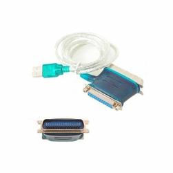Adapter przejściówka USB LPT Męsko Żeński Combo