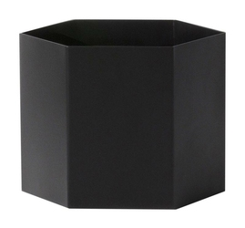 Doniczka Hexagon XL czarna
