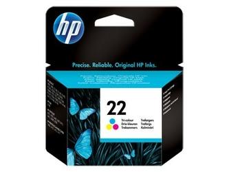 HP oryginalny tusz 22 trójkolorowy