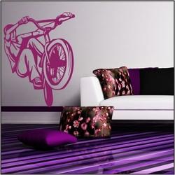 Naklejka welurowa rower, bike bk7