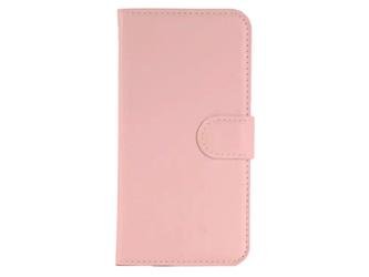 Etui portfel do Samsung Galaxy Note 4 Różowy - Różowy