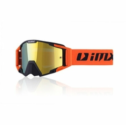 GOGLE IMX SAND BLACKORANGE MATT SZYBA ORANGE IRID