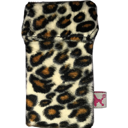 Etui na papierosy Smokeshirt Leopard Slim SH0506BSV