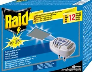 Raid, urządzenie elektryczne z wkładkami przeciw komarom, 10 sztuk wkładek