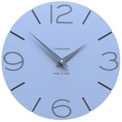 Zegar ścienny Smile CalleaDesign błękitny 10-005-41