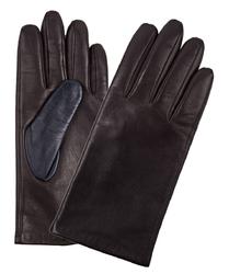 Eleganckie brązowe męskie rękawiczki Profuomo z technologią Screen Touch 9
