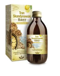 TRAN SKANDYNAWSKI HAVET Smak cytrynowy płyn 250ml