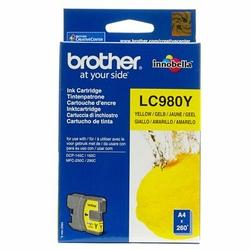 Tusz Oryginalny Brother LC-980 Y LC980Y Żółty - DARMOWA DOSTAWA w 24h