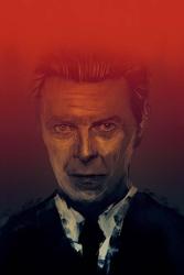 David Bowie - plakat premium Wymiar do wyboru: 90x120 cm