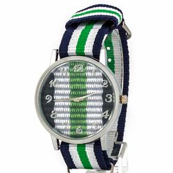 Zegarek kolor zielony I - zielony I