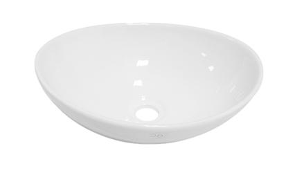 Umywalka Mathias nablatowa biały