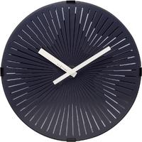 Zegar ścienny pulsująca, czarna gwiazda Nextime 30 cm 32243129