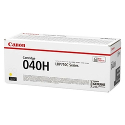 Canon oryginalny toner 040H, yellow, 10000s, 0455C001, 0455C002, high capacity, Canon imageCLASS LBP712Cdn,i-SENSYS LBP710Cx, LB