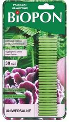 Biopon, pałeczki nawozowe uniwersalne, 30 sztuk