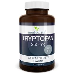TRYPTOFAN L-tryptophan 250mg - 100 kapsułek