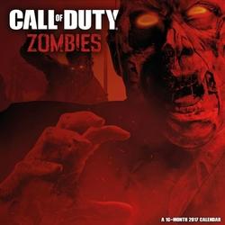 Call Of Duty Zombies - oficjalny kalendarz 2017