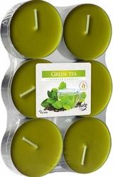 Bispol Maxi, zielona Herbata, podgrzewacze zapachowe, 6 sztuk