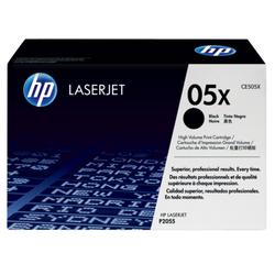 HP 05X oryginalny wkład z czarnym tonerem LaserJet XL