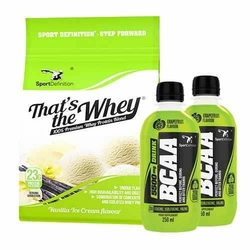 Thats The Whey - 700g + BCAA 5500 Drink - 2x 250ml - Coconut  Grapefruit
