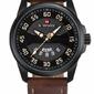 Męski zegarek NAVIFORCE - NF9124 zn055b - camelsilver