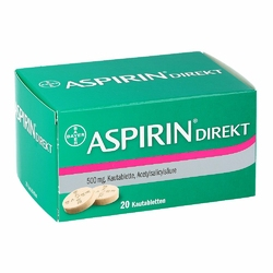 Aspirin Direkt Kautabl.
