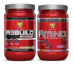 BSN Amino X 435 - Blue Raspberry  Strawberry Orange