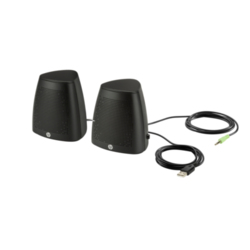 Czarny głośnik USB HP S3100