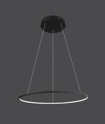 Altavola Design :: lampa wisząca Ledowe Okręgi No.1 czarna in 3k - czarny