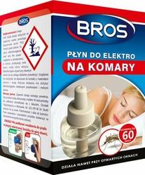 Bros Elektro, płyn zapasowy do urządzenia elektrycznego przeciw komarom, 60 nocy