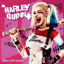 Harley Quinn - kalendarz na ścianę 2019