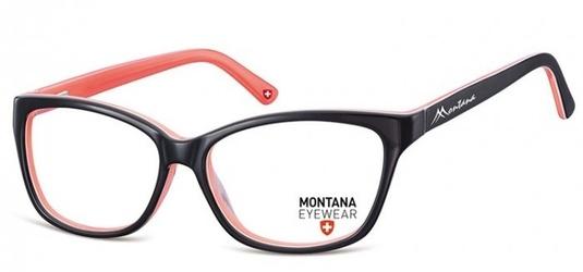 Damskie okulary oprawki optyczne kocie, korekcyjne montana ma80a
