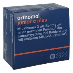 Orthomol junior c plus tabletki do żucia owoce leśne