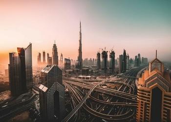 Wschód nad Dubajem - plakat