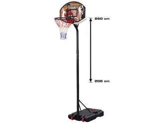 Zestaw kosz do koszykówki hudora chicago dla dzieci regulowany 206-260